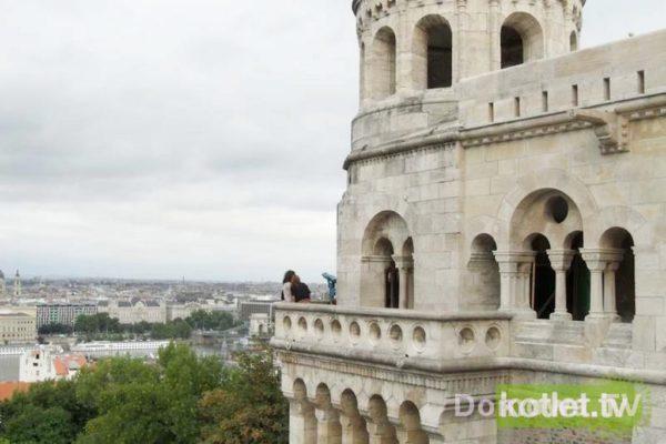 Budapeszt – Baszta Rybacka po stronie Budy