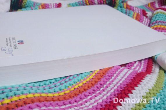 Ot papier. Nie umiem uchwycić jego bieli, ani dotyku, ale to będzie książka. Będzie gruba, prawdziwa, nasza. Czekam by poczuć zapach :)