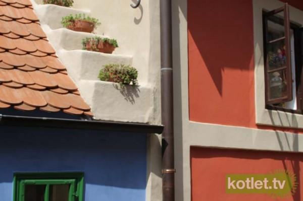 Praga Złota uliczka