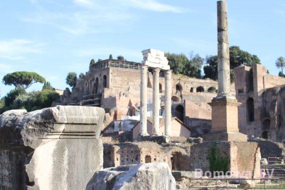 Rzym Forum Romanum, czyli każdy skrawek tego miasta robi wrażenie