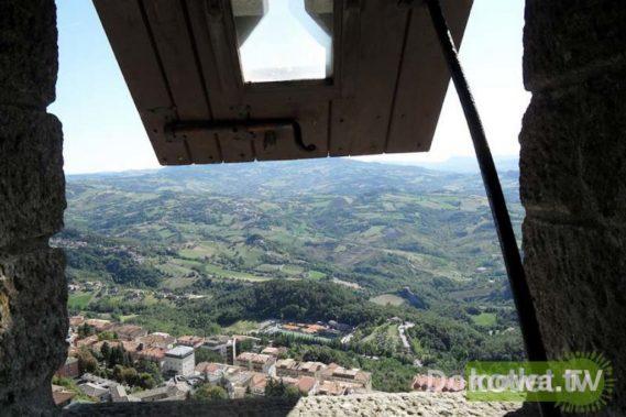 San Marino - widok z zamku