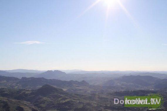 San Marino - widok z góry