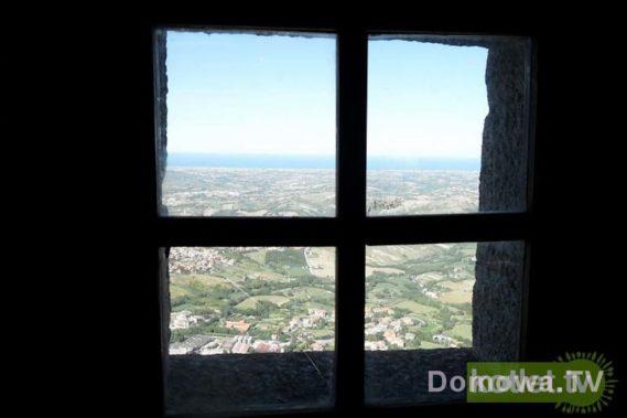 San Marino - widok z wieży
