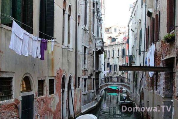 Wenecja i jeden z kanałów