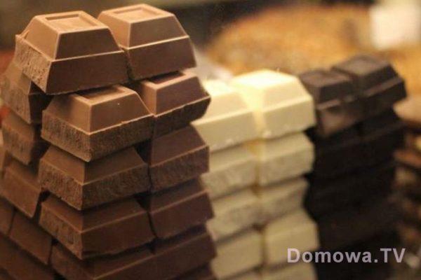 Ogromne kostki czekolady