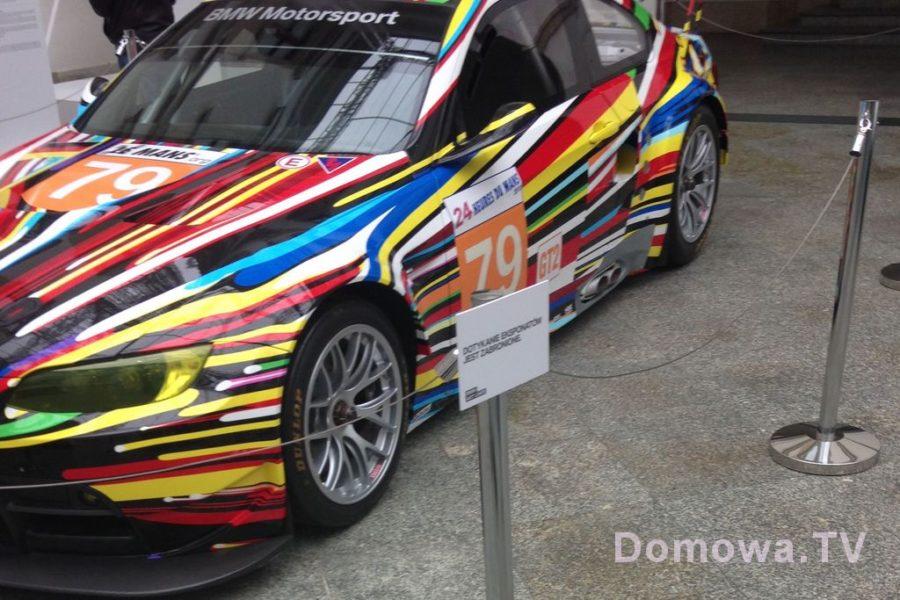 Wystawa BMW art car, czyli bardzo kolorowe samochody :)