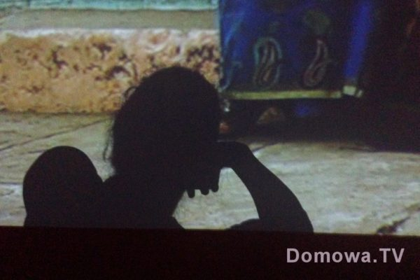 Centrum Sztuki Współczesnej :) To jest mój/nasz cień, oglądamy wideo