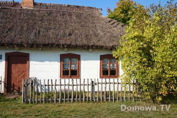 Jeden z domów w skansenie