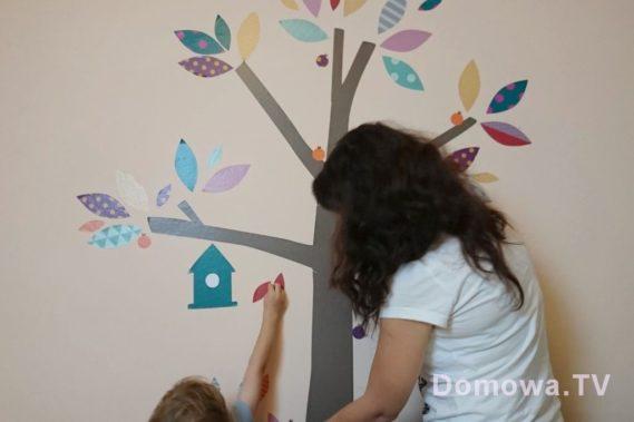 Super zabawa - czyli wspólnie dekorujemy pokój