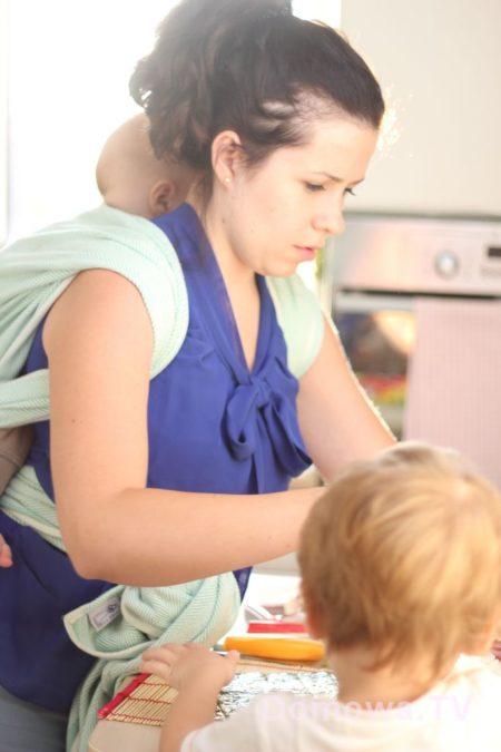 Robimy sushi ;) dwójka dzieci, kuchnia, jedzenie - jeah :)