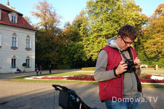 Park w Nieborowie - tu jest pięknie. Wcale sie nie dziwie, że tyle młodych par robi tu swoje sesje zdjęciowe poślubne