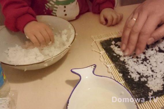 Pozwalam spróbować, ułożyć :) tutaj ryż do sushi, zdjęcie sprzed roku, więc miał niewiele ponad rok