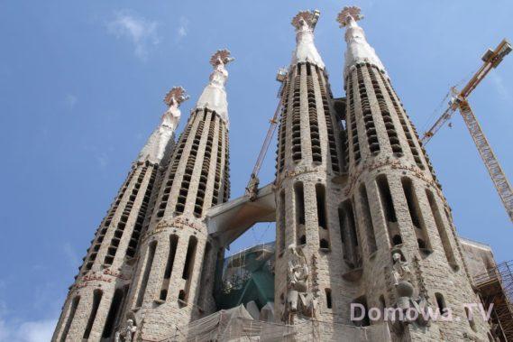 Sagrada Familia - wiecznie nieukończona budowla