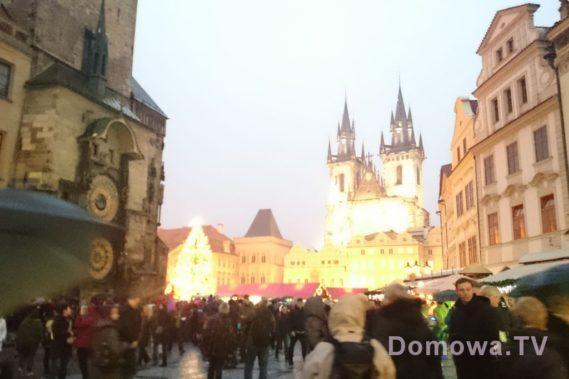 Praga - tłoczna nawet zimą