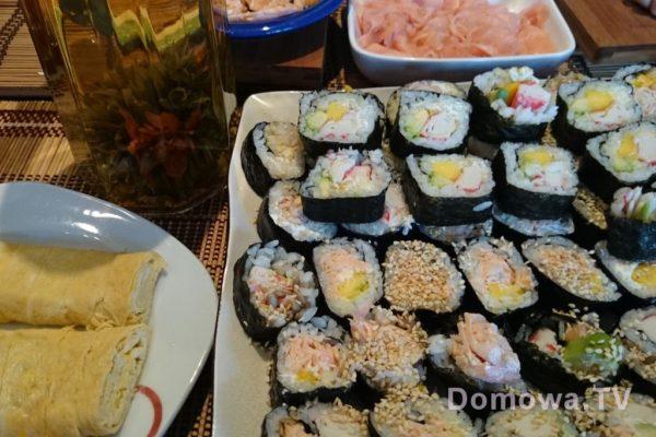 Sushi, czyli spotkanie ze znajomymi