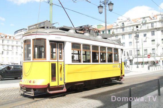 Lizbona i żółte tramwaje