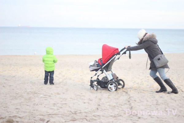 Pchać po plaży nie bardzo…
