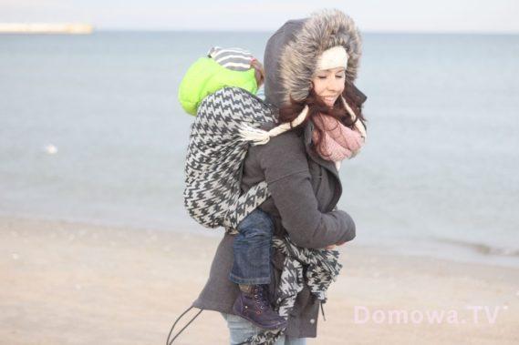 Noszenie dziecka w chuście