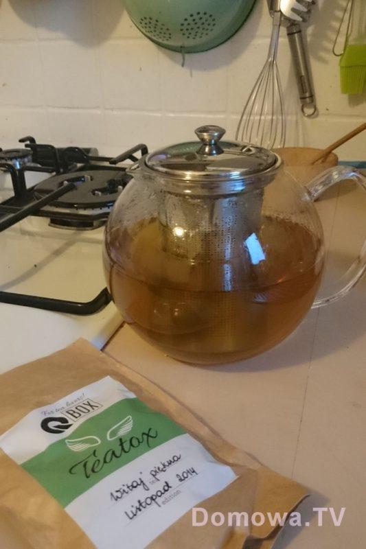 Zaparzacz herbaty :D już w uzyciu