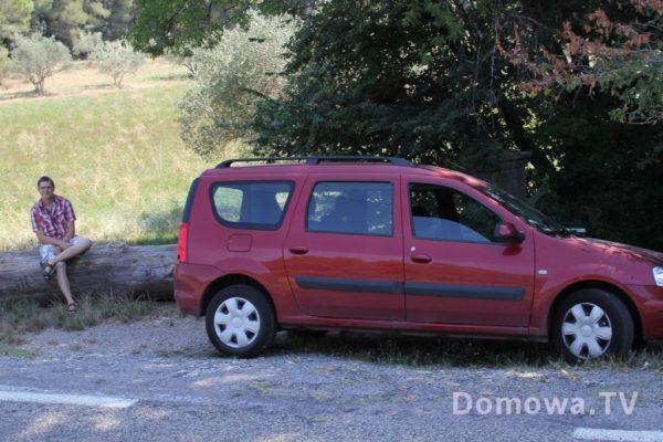 Nasz samochód, kupiony specjalnie dla pojemnego bagażnika :D