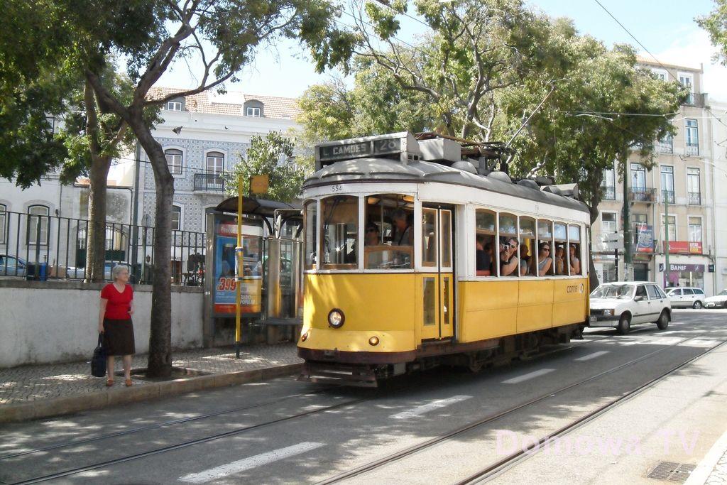 Tramwajem po Lizbonie