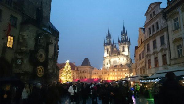 Praga. Świąteczne jarmarki