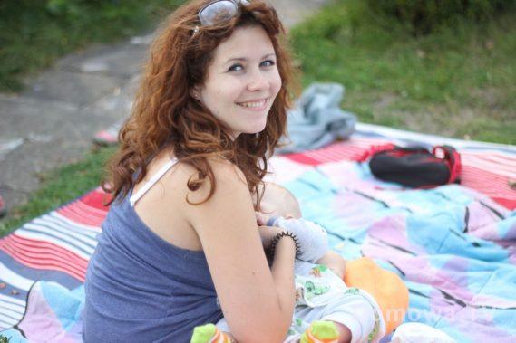 Piknik, karmienie :)