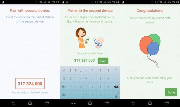 Baby Monitor 3G – parowanie dwóch telefonów do pracy w trybie nadajnika i odbiornika