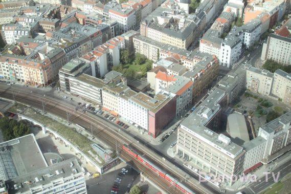 Widok z wieży telewizyjnej