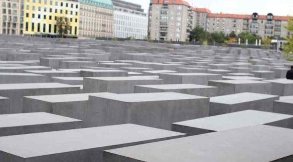 Berlin Pomnik Pomordowanych Żydów Europy