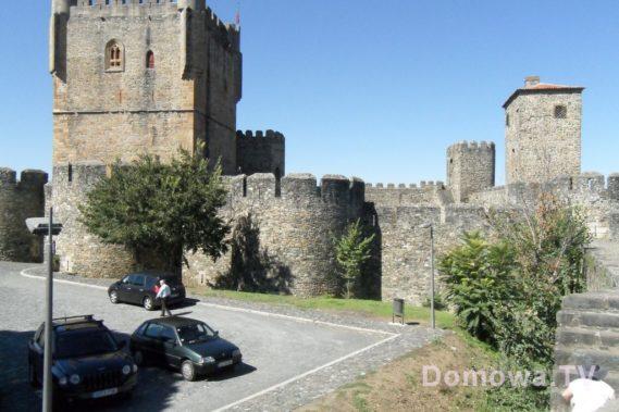 Zamek w Bragancy - uwaga tu jest siesta