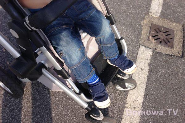 I dwulatka – rozciągnięty podnóżek
