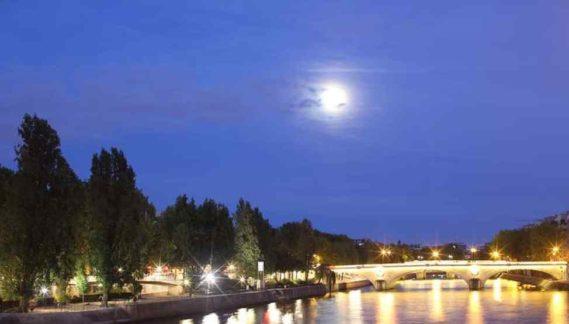 Paryż wieczorem
