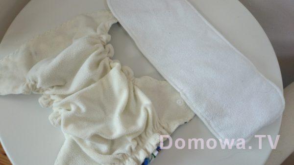 Pieluszka kieszonka to po prostu pieluszka z kieszonką + wkład do wsunięcia