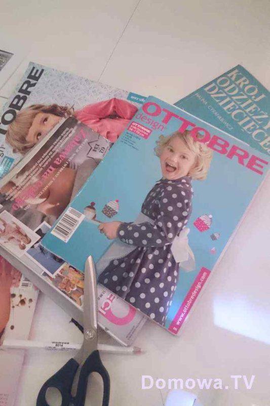 Kilka fajnych czasopism z wykrojami