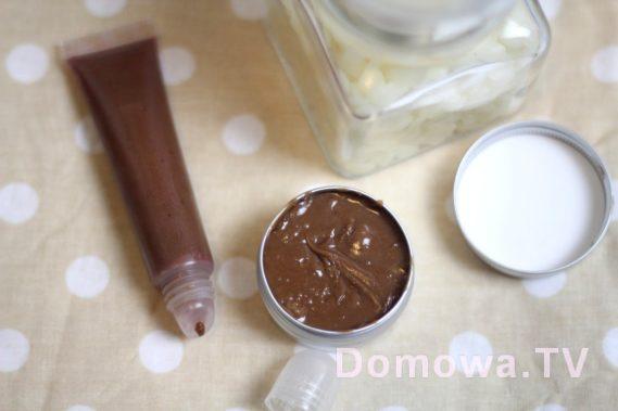 Czekoladowy balsam do ust - cuuuudowny