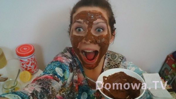 Maseczka czekoladowa – aplikacja :P