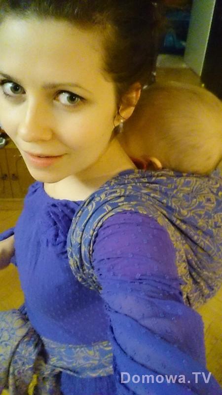 Noszenie dziecka w chuście tak kurs zrobiłam też dla samej siebie :)