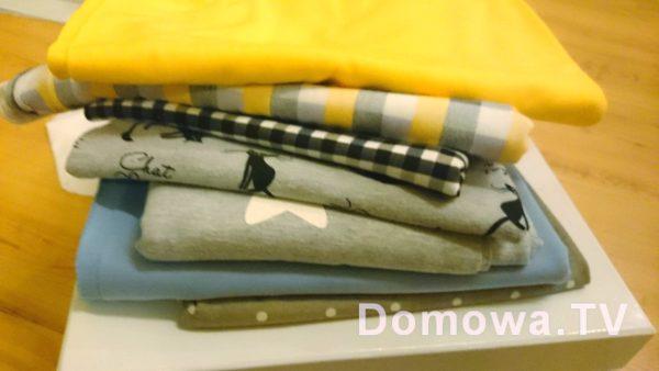 Dzianiny dają ogromne pole do popisu, ale i tkaniny są super :)