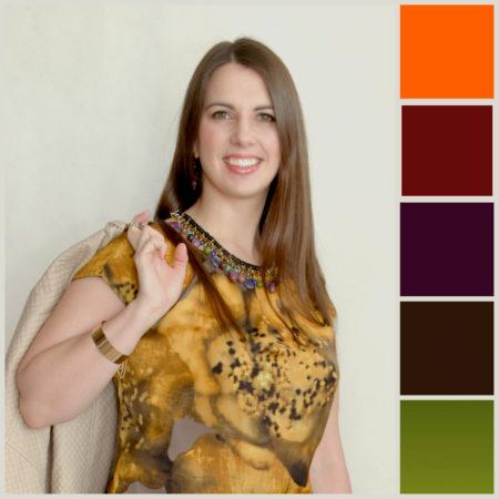 Typ kolorystyczny jesień, fot: Style Doctor