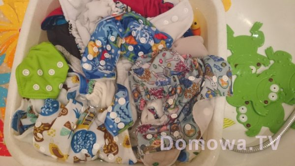 Pielęgnacja i pranie pieluszek wielorazowych