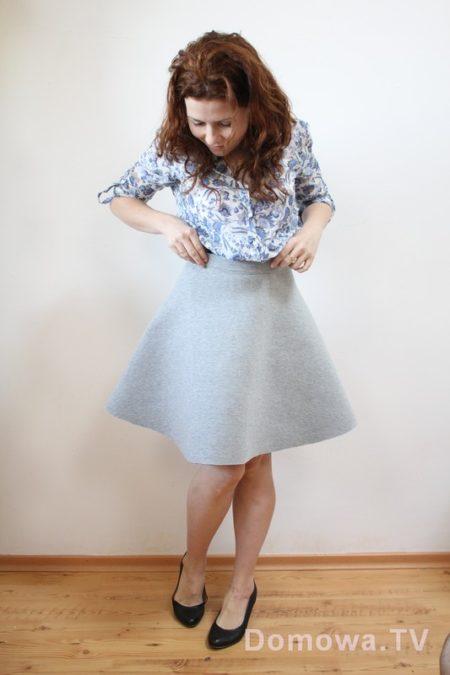 Spódnica z pianki - jak Wam sie podoba? Lubicie taki krój?