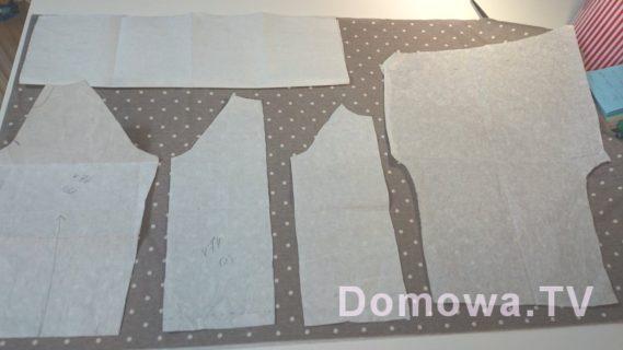 Sukienka i spodenki, które można wykroić z 0,5 metra materiału