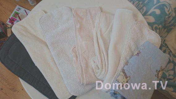 Różne wkłady do pieluszek