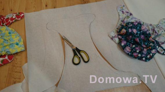 Przygotowanie wykroju pieluszki