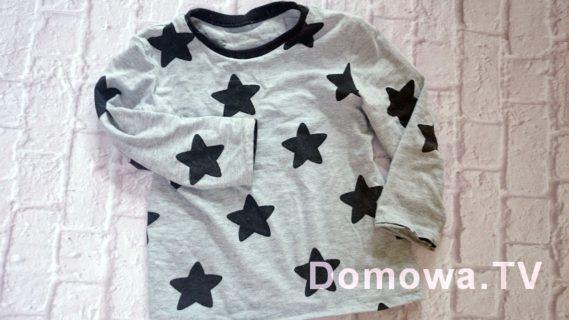 Bluzeczka w gwiazdy