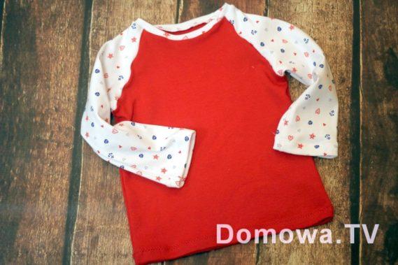 Bluzeczka czerwona