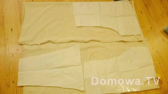 Przygotowanie bluzy dresowej tutorial