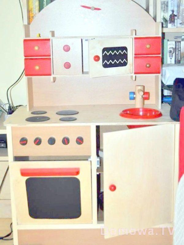 Drewniana kuchnia, fot. dziękuję Marcie :)
