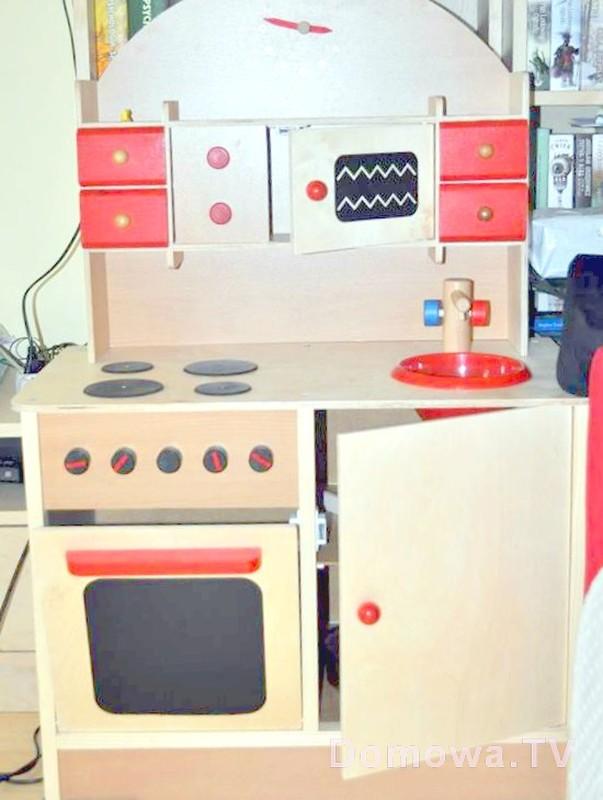 8 świetnych drewnianych zabawek -> Kuchnia Dla Dzieci Reklama Tv